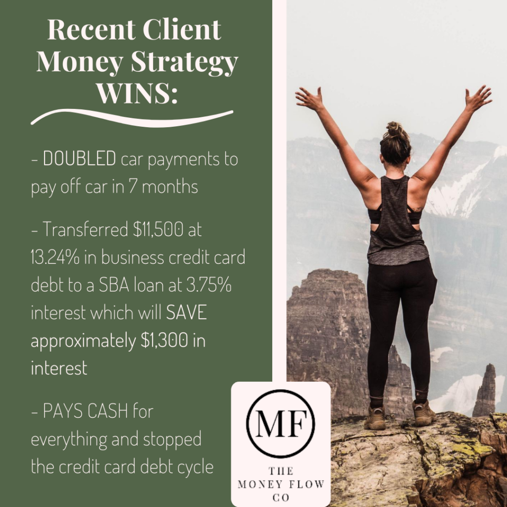 Recent Client Money Wins Money Flow Co